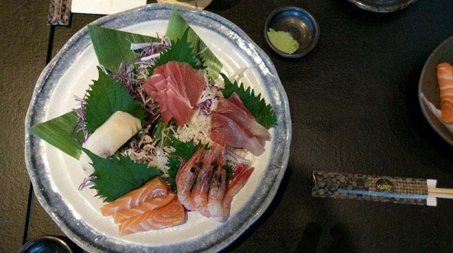 KURO Izakaya Sashimi Plate