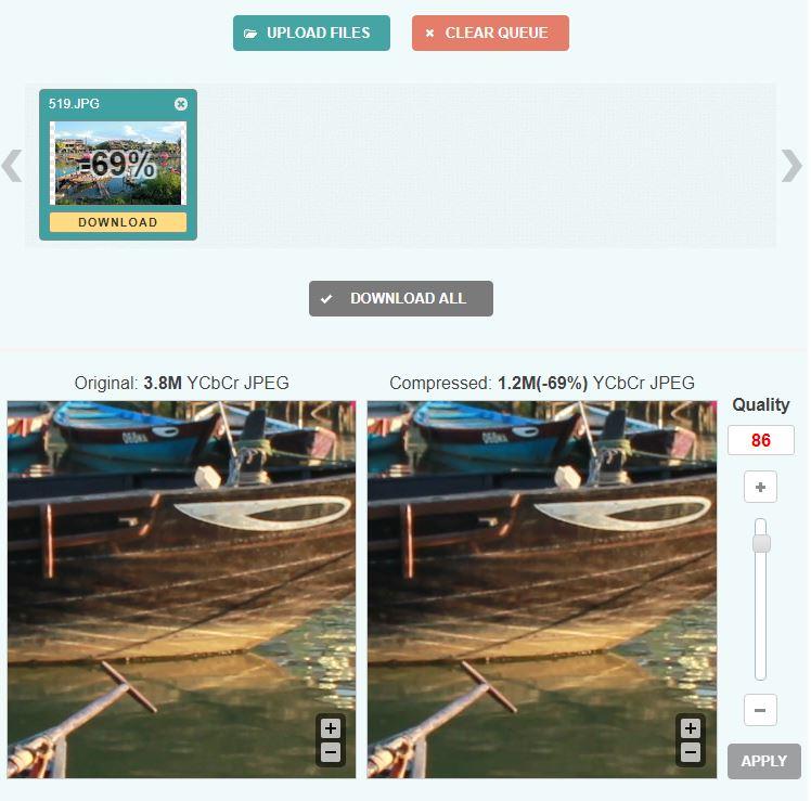Image Optimizer - ImageCompressor